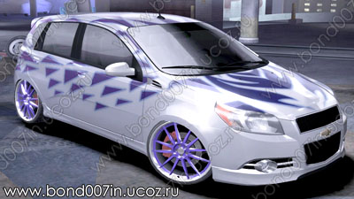 Автомобиль для Need For Speed Carbon Chevrolet Aveo
