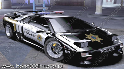 Полицейский автомобиль для Need For Speed Carbon Lamborghini Diablo SV