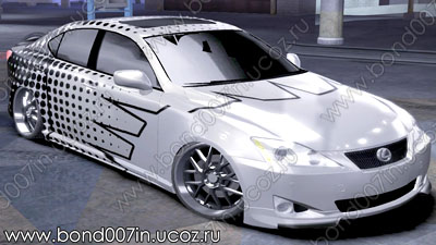Автомобиль для Need For Speed Carbon Lexus IS350