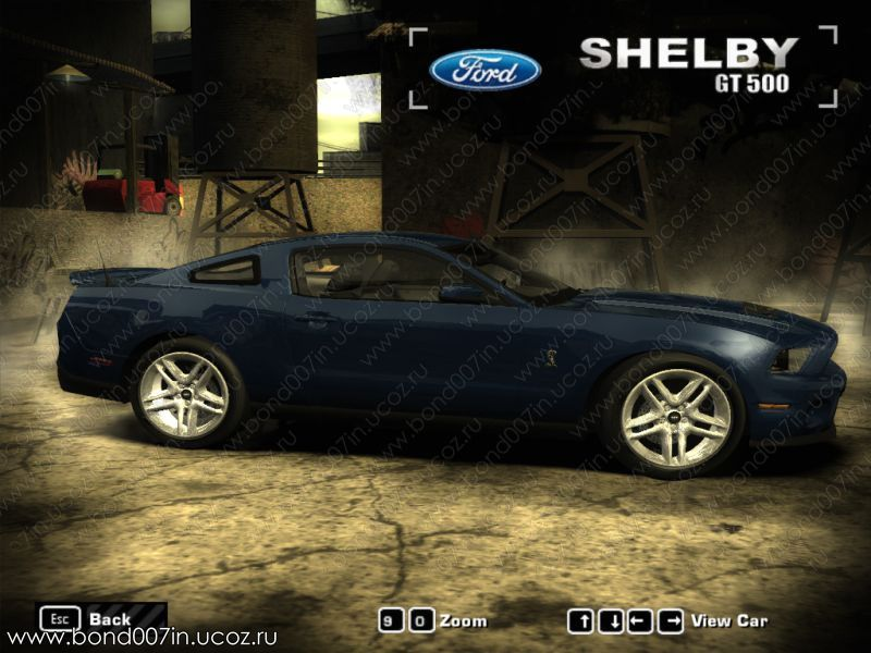 Автомобиль для need for speed most wanted shelby gt500