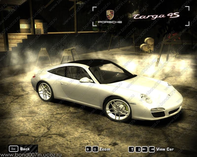 need for speed most wanted porsche 911 targa 4s. Black Bedroom Furniture Sets. Home Design Ideas