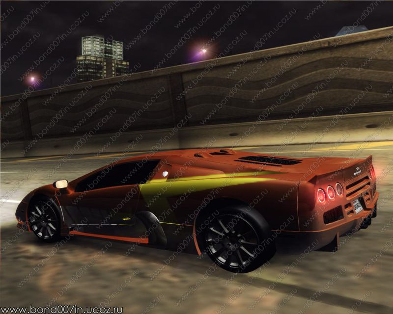 need for speed underground 2 ssc ultimate aero 2009. Black Bedroom Furniture Sets. Home Design Ideas