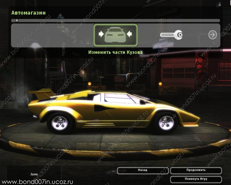 need for speed underground 2 lamborghini countach lp5000 qv. Black Bedroom Furniture Sets. Home Design Ideas