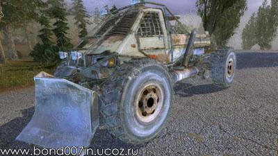 Автомобиль для Сталкер Тени Чернобыля бронированный джип