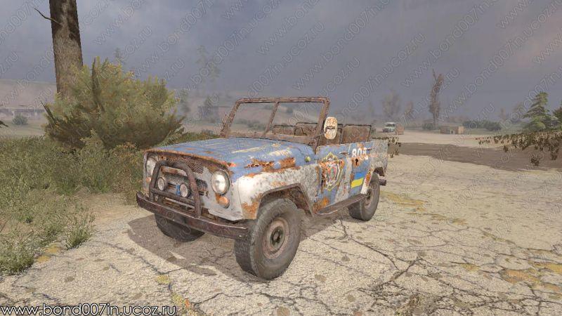 Stalker Авто Зона Мод