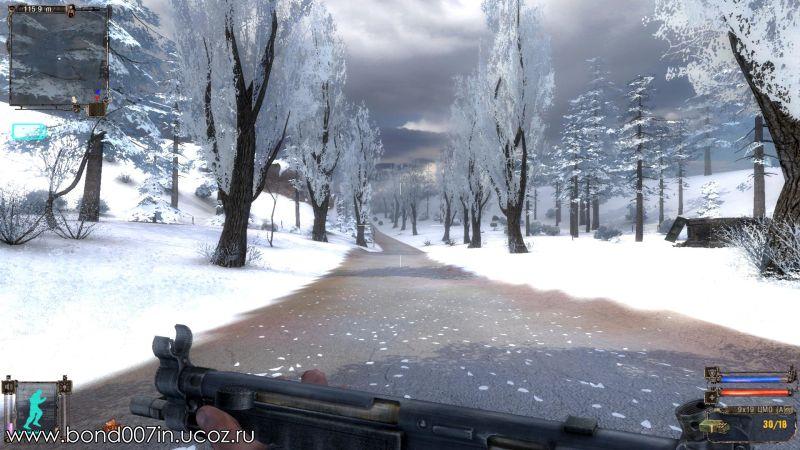 Скачать Игру Сталкер Winter Mod - фото 2